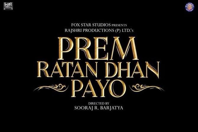 Prem Ratan Dhan Payo | Posters Release | Salman Khan