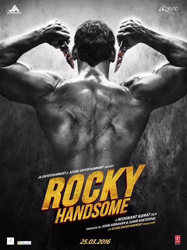 Rocky Handsome John Abraham Movie Posters