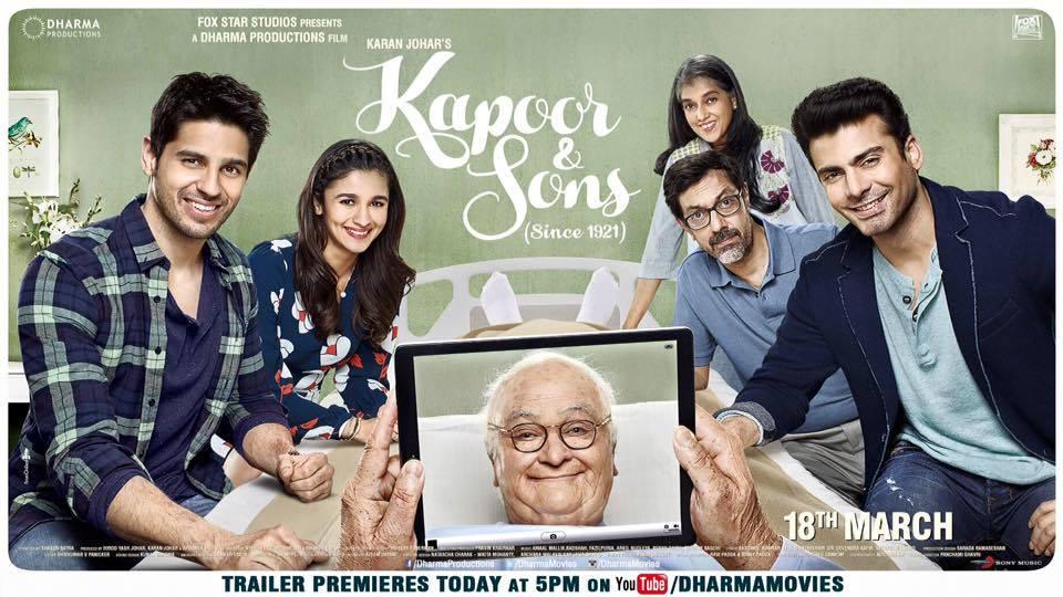 Kapoor & Sons Trailer Premiere