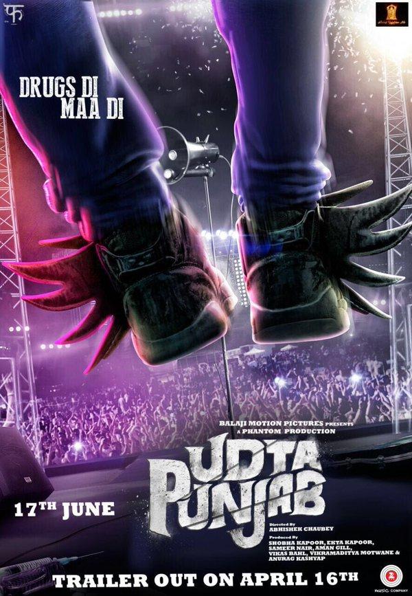 Udta Punjab | Character Poster | Tommy Singh