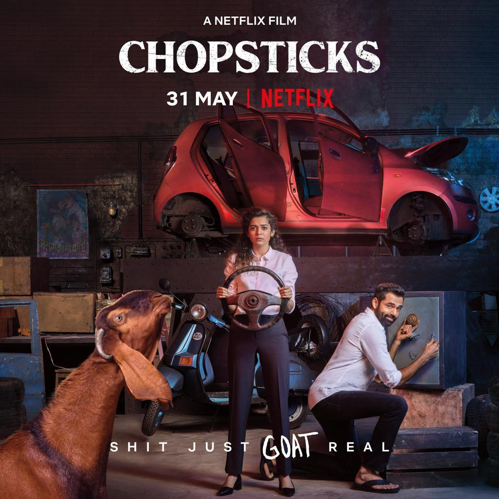 Chopsticks   Official Trailer   Netflix   Mithila Palkar   Abhay Deol