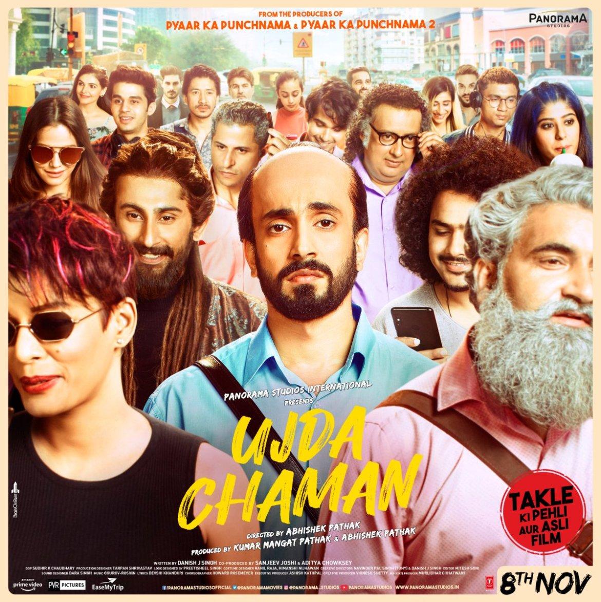 Ujda Chaman Official Trailer | Sunny Singh, Maanvi Gagroo | Abhishek Pathak | Releasing 8th November