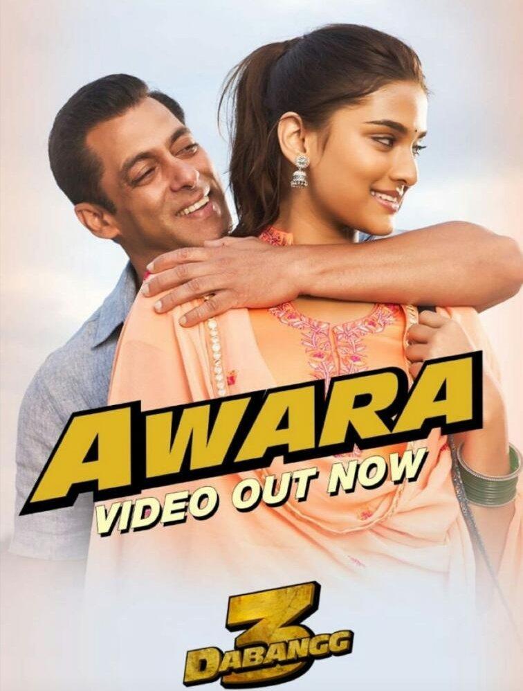 Dabangg 3: Awara Video | Salman Khan,Sonakshi S,Saiee M | Salman Ali, Muskaan | Sajid Wajid