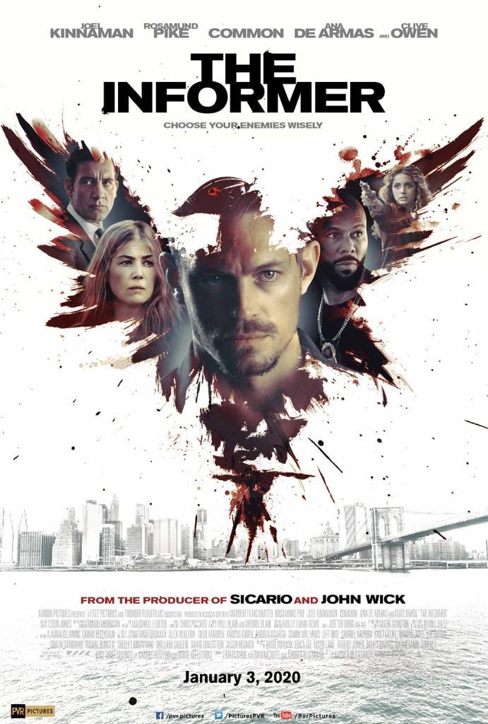 The Informer – Official Trailer – Warner Bros. UK