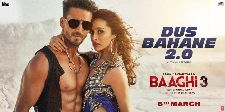 Baaghi 3: Dus Bahane 2.0 | Vishal & Shekhar FEAT. KK, Shaan & Tulsi Kumar | Tiger Shroff , Shraddha Kapoor