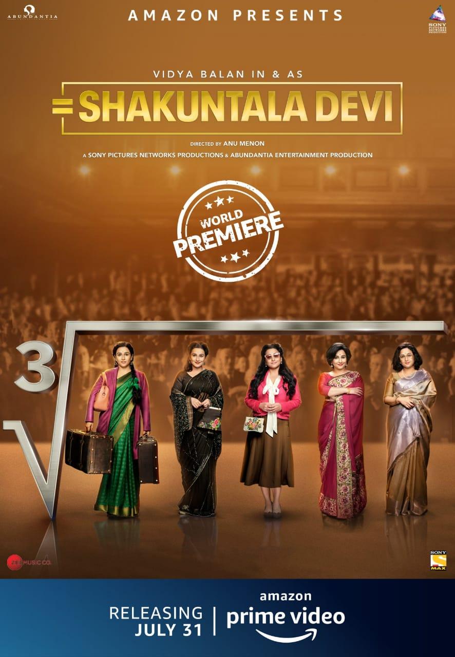 Shakuntala Devi – Official Trailer | Vidya Balan, Sanya Malhotra | Amazon Prime Video | July 31