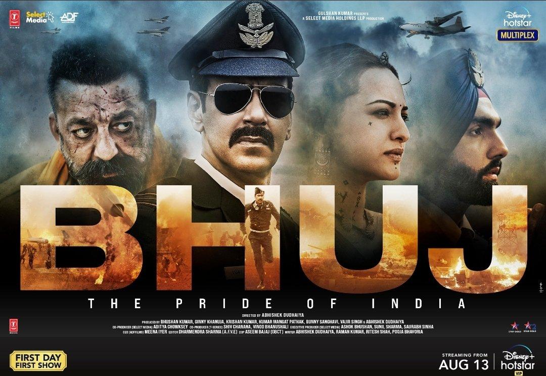 Bhuj:The Pride Of India – Official Trailer | Ajay Devgn  Sonakshi Sinha Sanjay Dutt Ammy Virk Nora Fatehi | 13th Aug