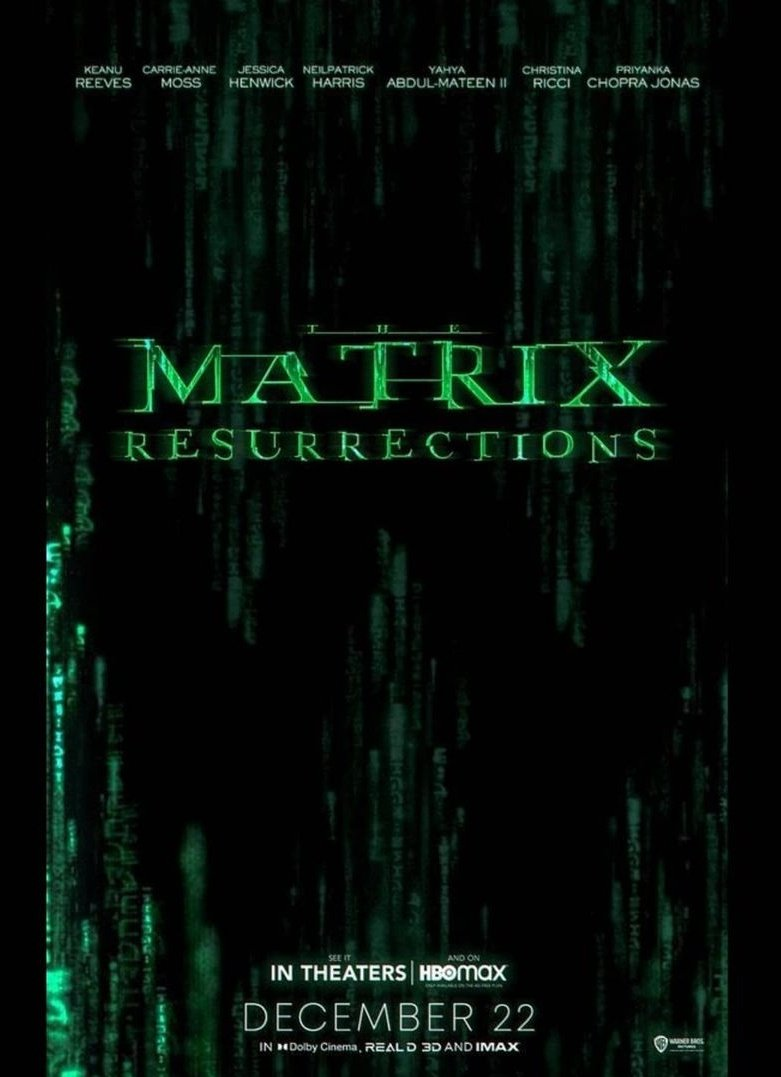 The Matrix Resurrections – Official Trailer – Keanu Reeves