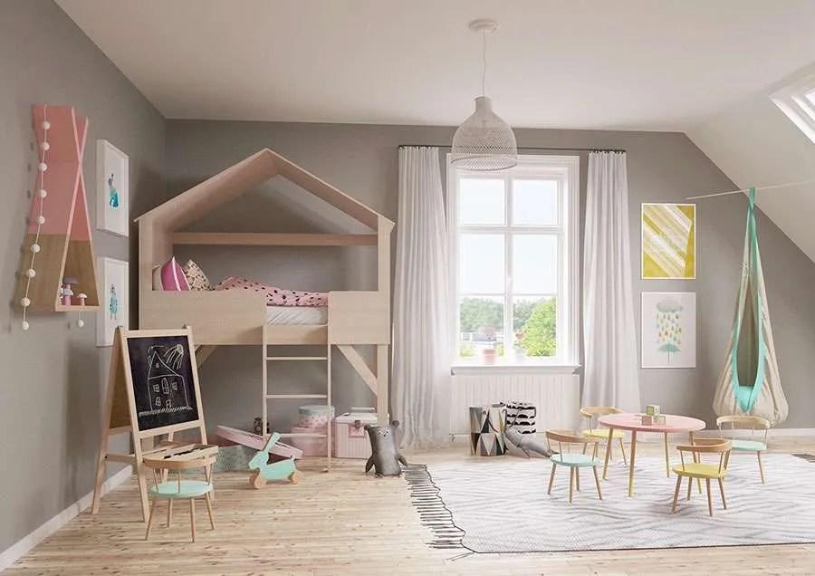 Animaletti adesivi per le camerette dei bambini, decorazioni murali ws1926. 3 Idee Per Decorare Le Pareti Camerette Per Bambini Fillyourhomewithlove