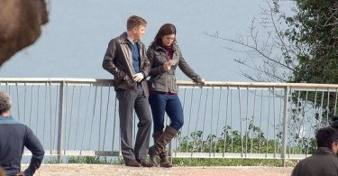 Ewan McGregor Gina Carano Haywire 2011 Set Photos 18