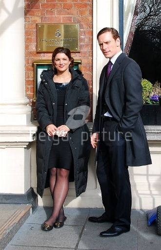 Michael Fassbender Gina Carano Haywire 2011 Set Photos 5