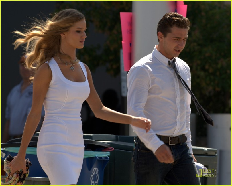 Shia Labeouf, Rosie Huntington-Whiteley, Transformers classy 2