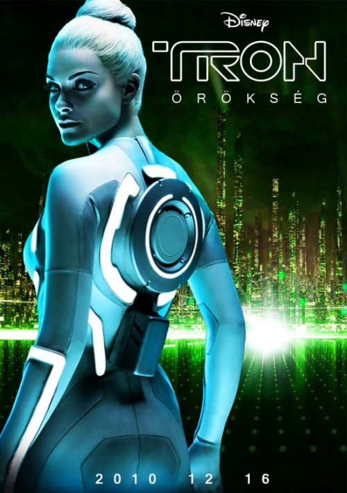 Tron: Legacy, Beau Barrett, Hungarian International Movie Poster