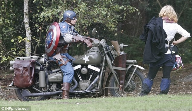 Captain America: The First Avenger, Stunt Double, Set Photos 1