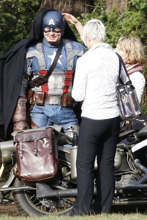 Captain America: The First Avenger Stunt Double Set Photos 4