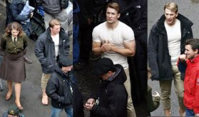 Chris Evans Hayley Atwell Captain America The First Avenger First Photos 01