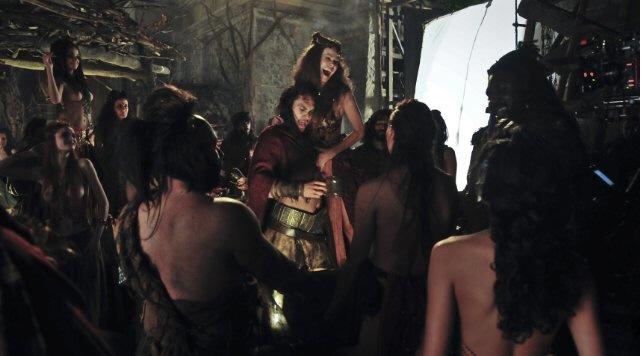Jason Momoa, Conan (2011), Drinking Girls, Behind the Scenes, 01