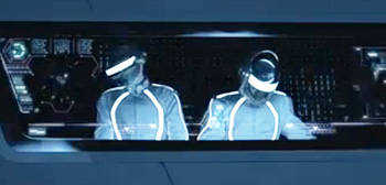 Tron: Legacy, Daft Punk, Derezzed Video, Header