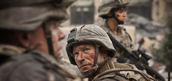 Aaron Eckhart, Michelle Rodriguez, Battle: Los Angeles, Teaser Trailer header
