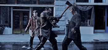Andrew Lincoln, Steven Yeun, The Walking Dead, Guts, header