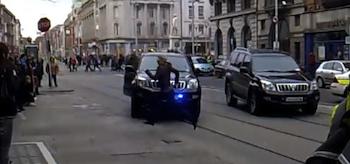 Gina Carano, Haywire, 2011, Running, SUVs