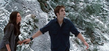 Kristen Stewart, Robert Pattinson, The Twilight Saga: Eclipse, snow