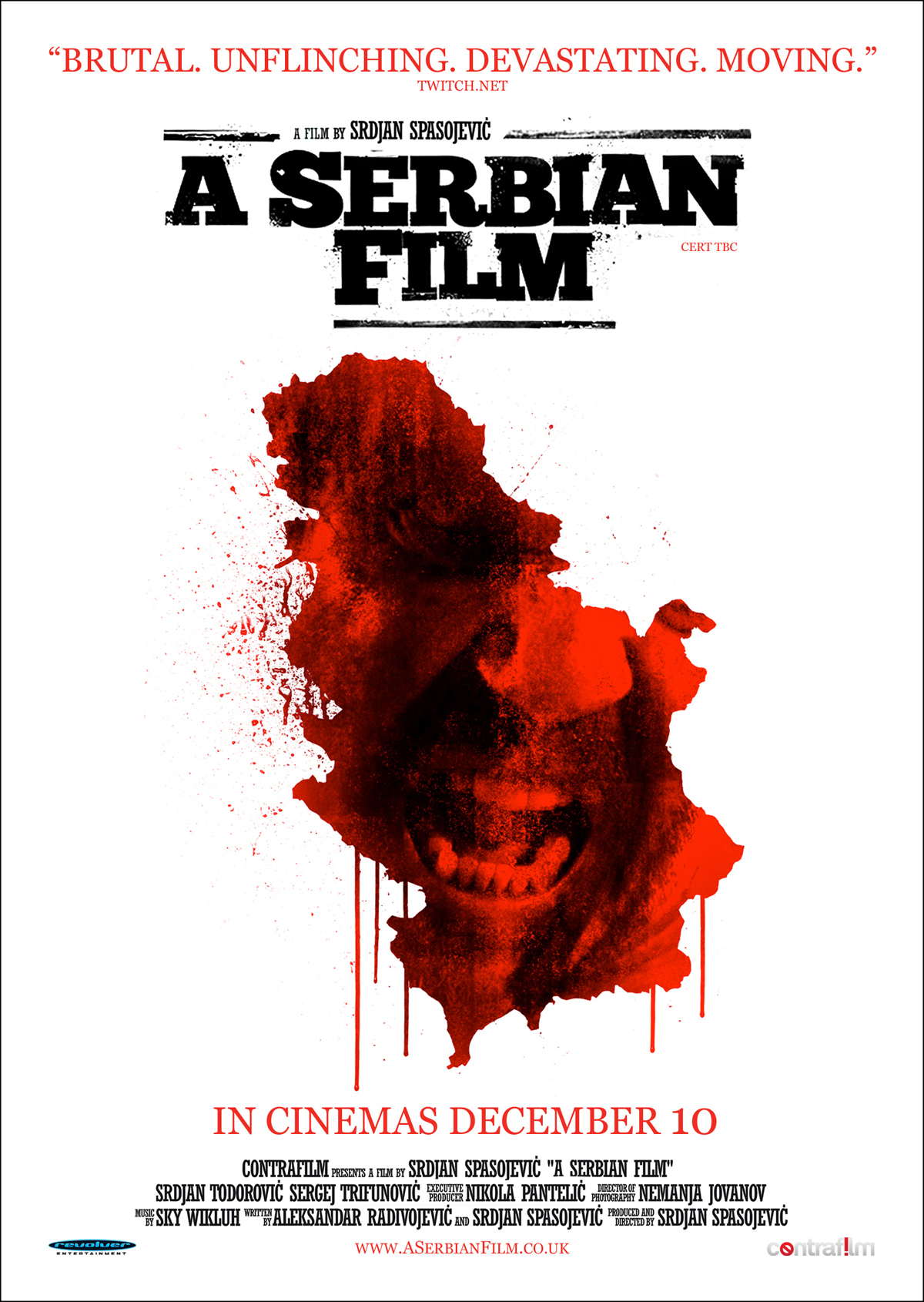 A Serbian Film Srpski Movie Poster 2010