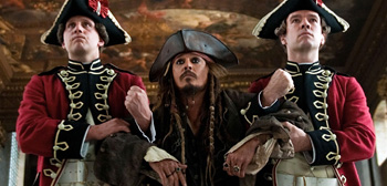 Johnny Depp, Pirates of The Caribbean: On Stranger Tides