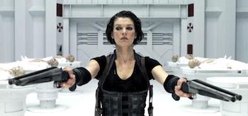 Milla Jovovich, Resident Evil: Afterlife, Shotguns