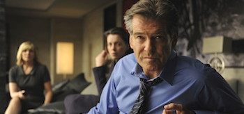 Pierce Brosnan, Olivia Williams, The Ghost Writer, 2010
