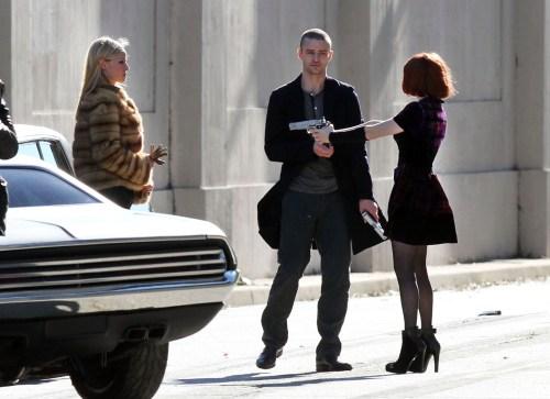 Rachel Roberts, Amanda Seyfried, Justin Timberlake, Now, 2011, Set 01