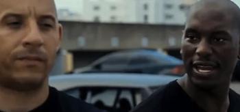 Vin Diesel, Tyrese Gibson, Fast Five