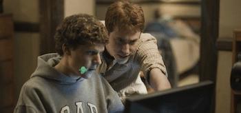 Jesse Eisenberg, Joseph Mazzello, The Social Network