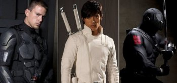 Channing Tatum, Byung-hun Lee, Ray Park, G.I. Joe 2