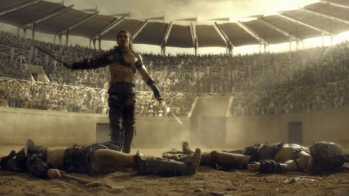 Dustin Clare, Spartacus: Gods of the Area, The Bitter End, 04