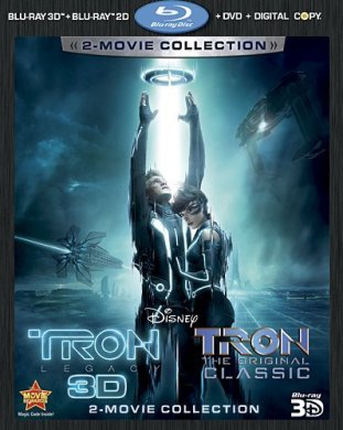 TRON: Legacy (2010) / TRON (1982): Five-Disc Combo Set