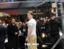 Chris Evans, Captain America: The First Avenger, New York City Set, 04