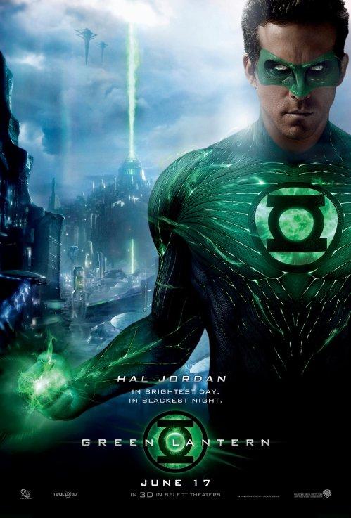 Green Lantern 2011 Movie Poster