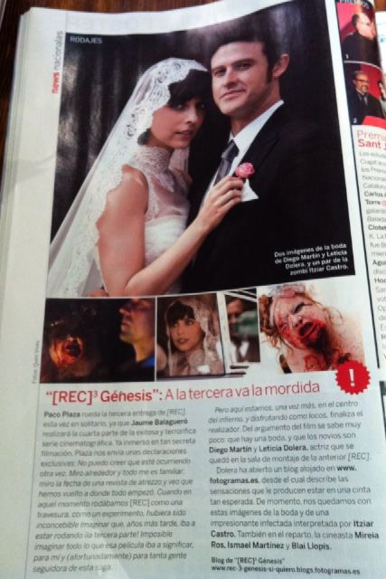Leticia Dolera, Diego Martín, Magazine, [REC] Genesis, 01