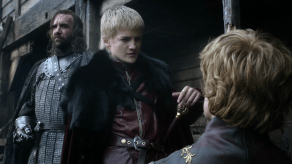 Rory McCann, Peter Dinklage, Jack Gleeson, Game of Thrones, The Kingsroad, 01