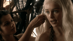 Emilia Clarke, Game of Thrones, Lord Snow, 01