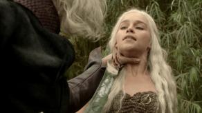 Emilia Clarke, Harry Lloyd, Game of Thrones, Lord Snow, 01