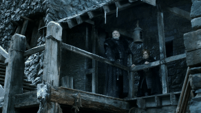 James Cosmo, Peter Dinklage, Game of Thrones, Lord Snow, 01