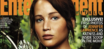 Jennifer Lawrence, The Hunger Games, Entertainment Weekly Cover, May 2011, 02