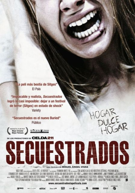 Kidnapped / Secuestrados Movie Poster, 2010