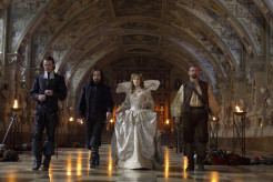 Milla Jovovich, Matthew Macfayden, Luke Evans, Ray Stevenson, The Three Musketeers