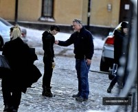 Rooney Mara, David Fincher, The Girl with the Dragon Tattoo, Sweden Set, 01