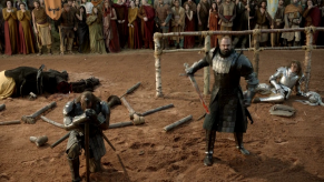 Rory McCann, Conan Stevens, Game of Thrones, The Wolf and the Lion, 02