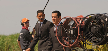 Will Smith, Josh Brolin, Men in Black 3, New York Set Photo, 05