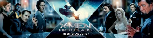 X-MEN: FIRST CLASS: X-Men / Hellfire Club Movie Banner